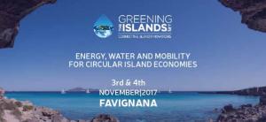 greening the islande favignana